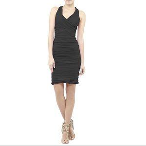 Nicole Miller cotton metal Jo dress